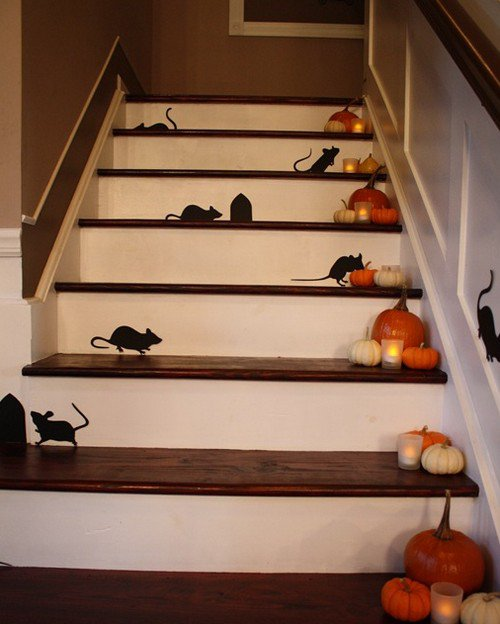 Идея для украшения дома на Хэллоуин
