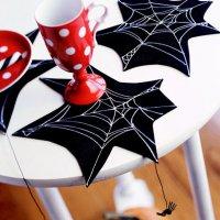 Простое украшение для декора стола на Хэллоуин