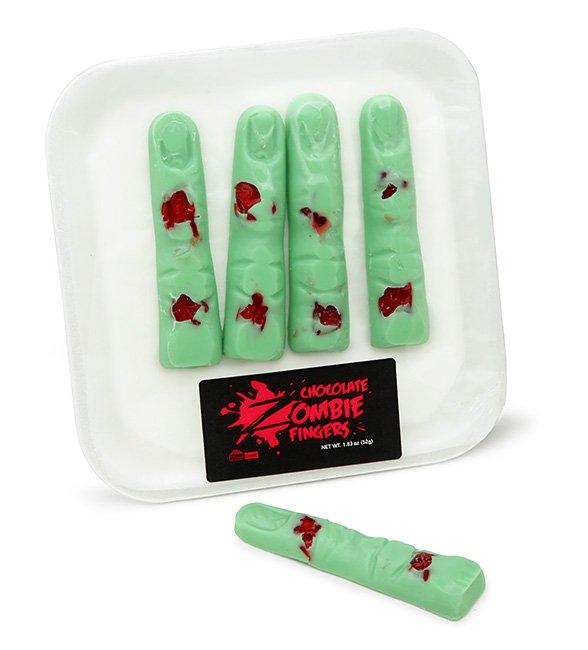 Шоколадные пальцы зомби