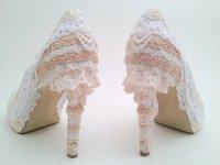 Туфли с кружевами