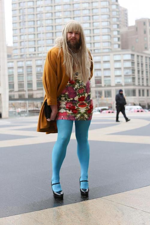Уличная мода Нью-Йорка