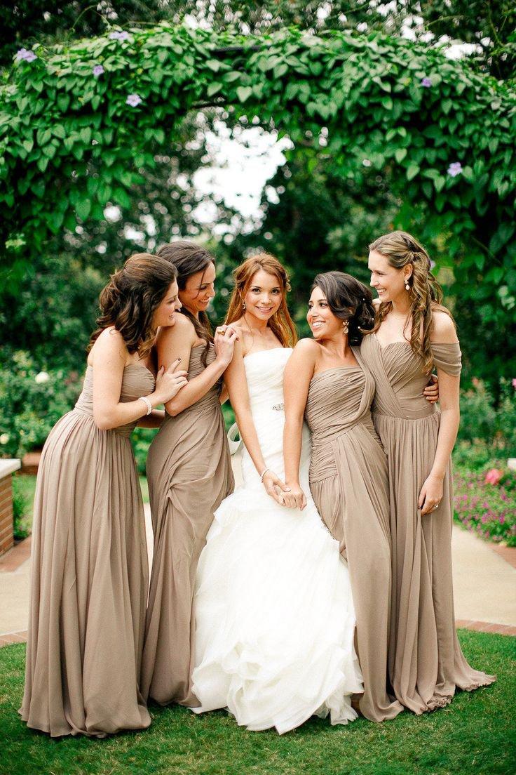 Свадьба в шоколадном цвете: дресс-код