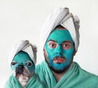 Как две капли воды: хозяин и собака