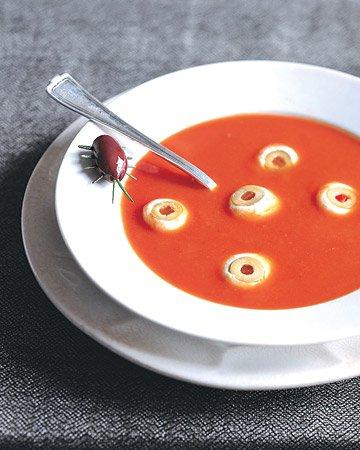 Глазастый суп на Хэллоуин