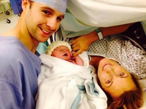Хизер Моррис поделилась фотографией новорожденного сына