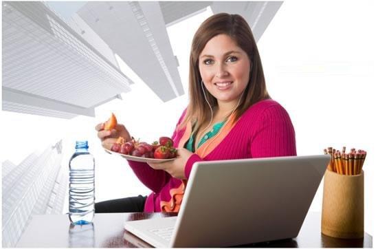 Как не набрать вес на работе