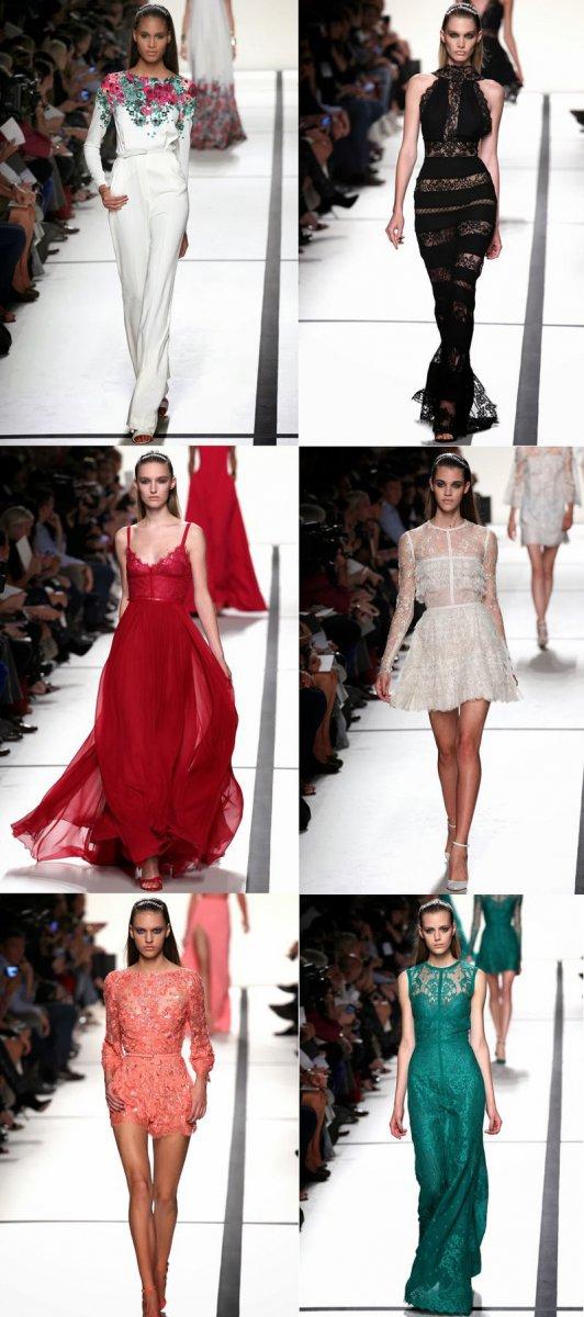 Коллекция Elie Saab весна-лето 2014 на неделе моды в Париже
