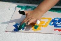 Как сделать пальчиковые краски самому