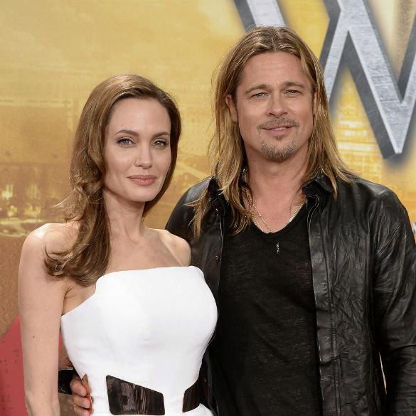Анджелина Джоли и Брэд Питт уже поженились?