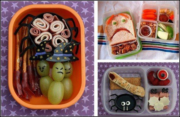 Забавные обеды на Хэллоуин