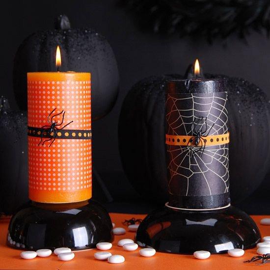 Идеи для Хэллоуина: черный и оранжевый