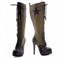 Модная обувь осень-зима 2013: милитари