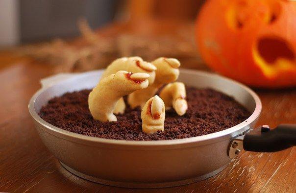 Печенье на Хэллоуин: «Восстание зомби»