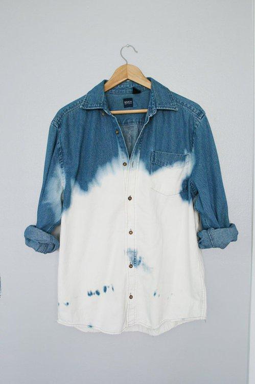 Как отбелить джинсовую куртку?