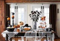 Идея декора на Хэллоуин при помощи марли