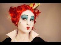 Макияж на Хэлллоуин: Червонная Королева