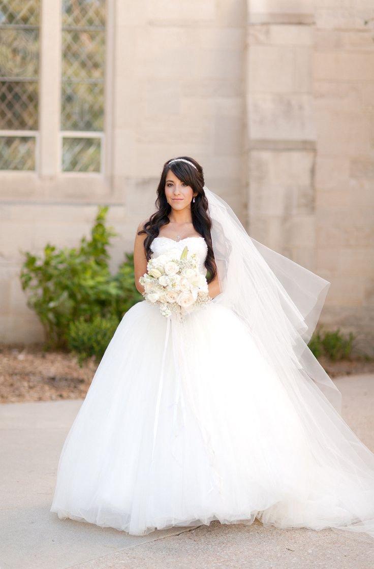 Пышное платье невесты: несколько советов по выбору