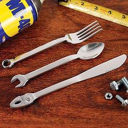 Набор столовых приборов и инструментов для настоящих мужчин