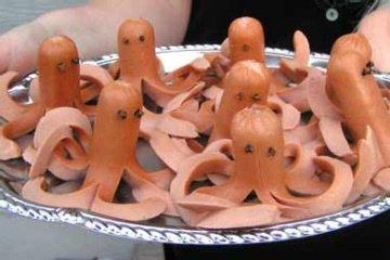 Осьминоги на Хэллоуин