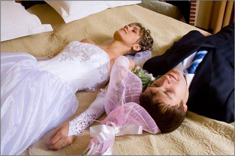 Первая брачная ночь без секса