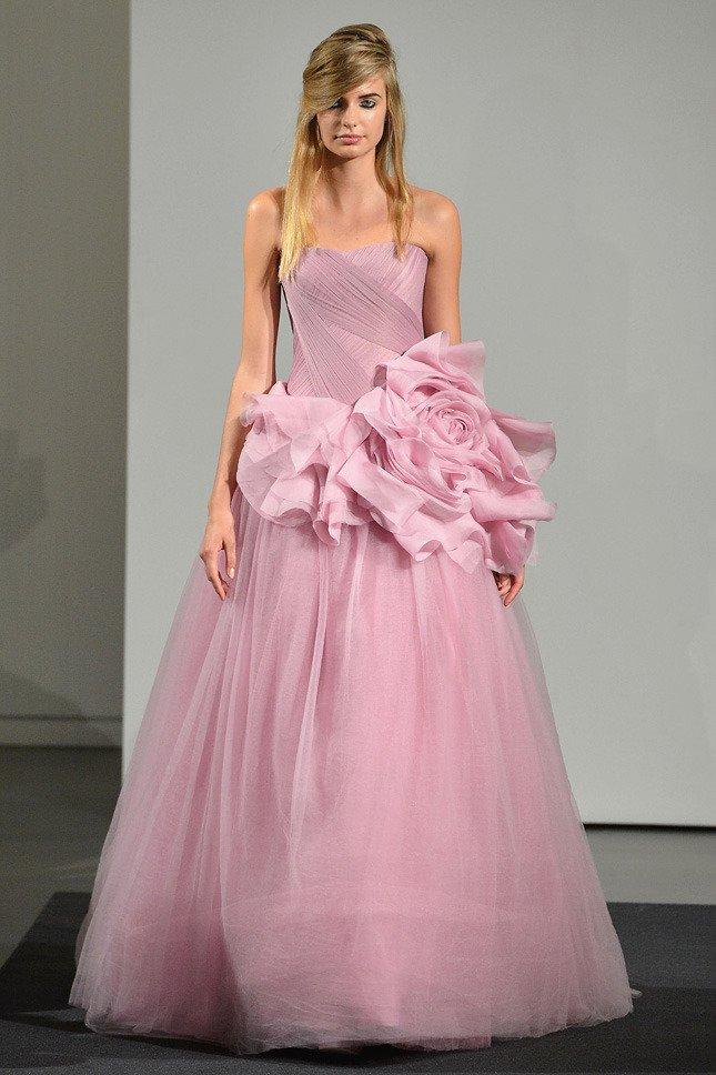 Свадебные платья в новой коллекции Веры Вонг