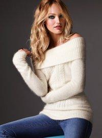 Что модно этой осенью: свитер из ангоры и мохера