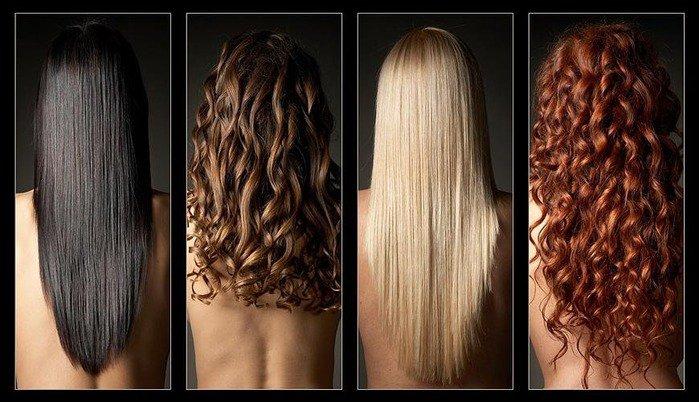 Уход за разным типом волос