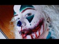 Макияж страшного клоуна на Хэллоуин