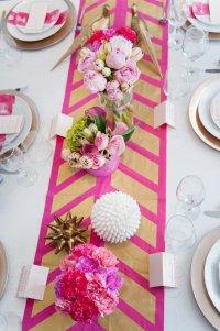 Свадебная сервировка стола: скатерть