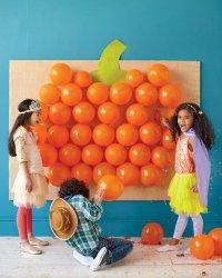 Детская игра на Хэллоуин «Тыквенный взрыв»