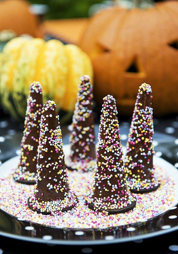 Десерт на Хэллоуин «Колпак волшебника»