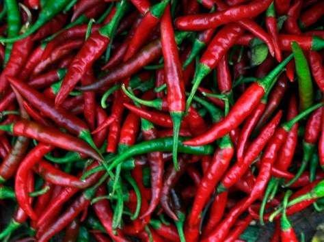 Жгучесть перца: тайский перец