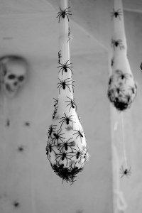 Паучьи гнезда на Хэллоуин