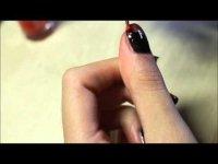 Маникюр на Хэллоуин: ногти вампира