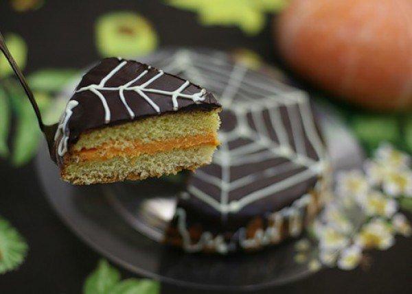 Тыквенный торт на Хэллоуин