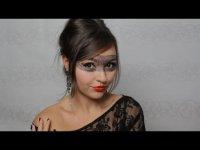 Кружевной макияж на Хэллоуин