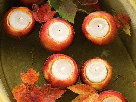 Гадания не Хэллоуин: яблоко, свеча и зеркало