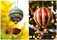 Новогодние игрушки-воздушные шары