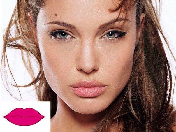 Губы отражают характер женщины