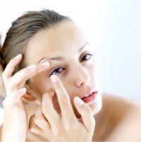 Исцеление глаз контактными линзами