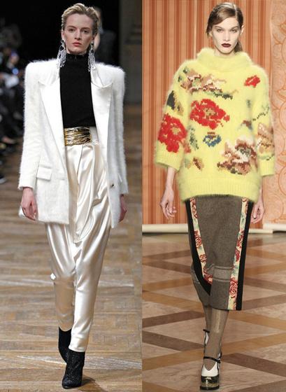Модная одежда из мохера и ангоры