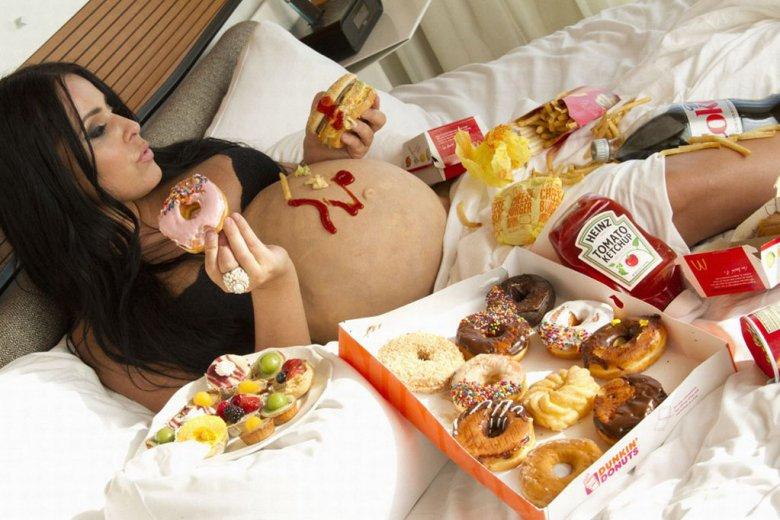 Полезные перекусы для беременных