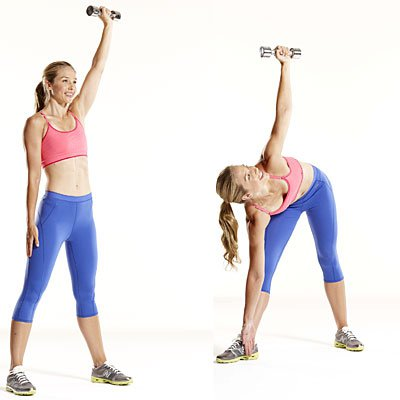 Упражнение для укрепления мышц рук