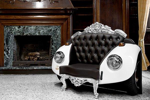 Гламурное кресло-жук