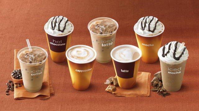 Как выглядят разные виды кофе