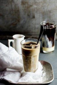 Айс-кофе с мороженым