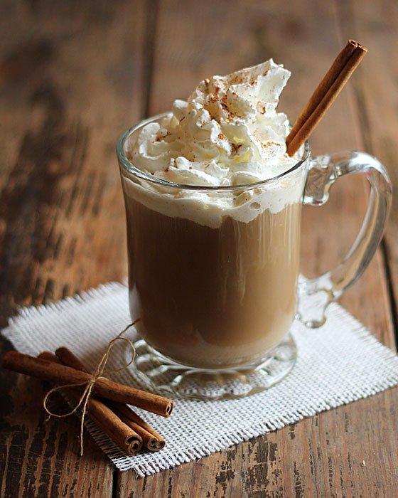 Кофе с пряностями и ликером