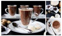 Имбирный горячий шоколад