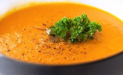 Детское овощное пюре с картофелем, морковью и горошком