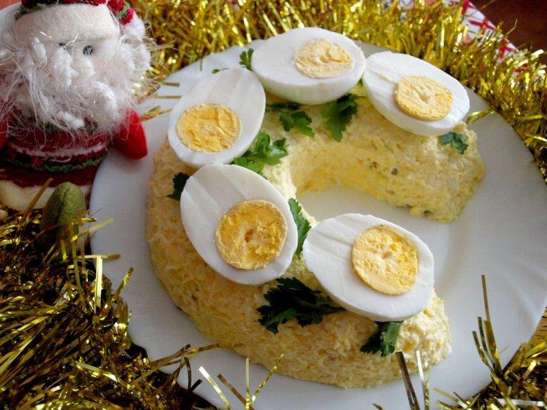 Салат «Подкова» к Новому году